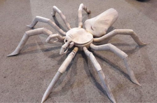 Spider -Unusual  Spraypaint job